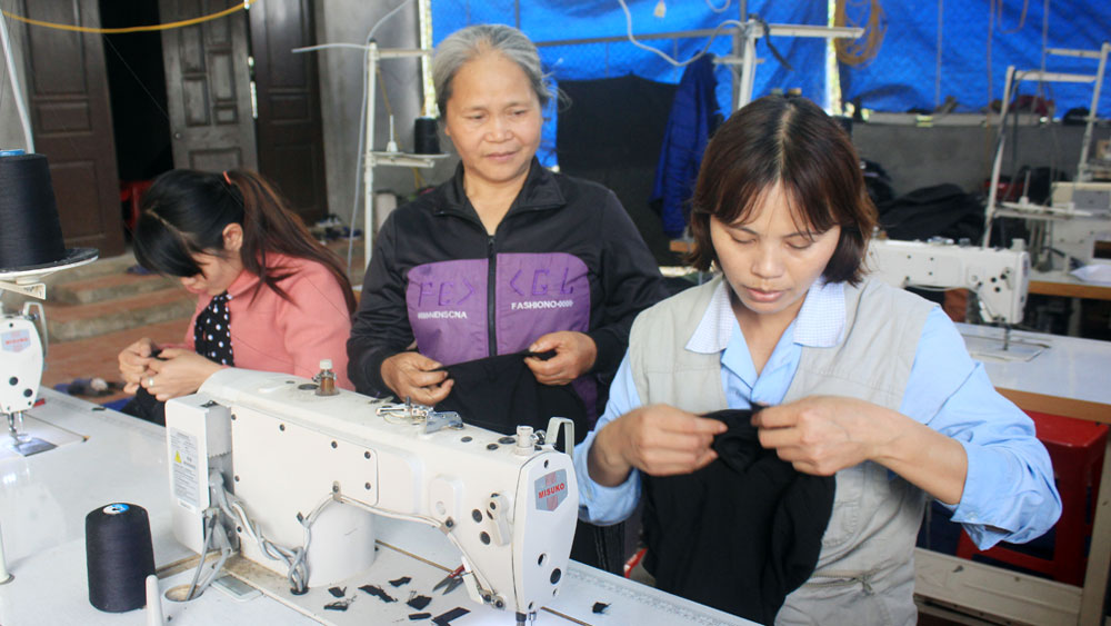 Chuyển đổi nghề nghiệp: Thêm cơ hội việc làm cho phụ nữ nông thôn